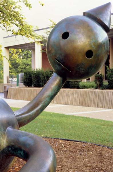 Photo of Gulliver sculpture on Meramec campus
